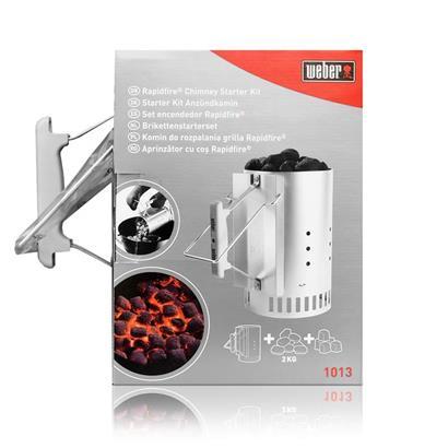 weber 1013 starter kit anz ndkamin anz nder grillkohle. Black Bedroom Furniture Sets. Home Design Ideas