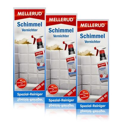 3x mellerud mold destroyer chlorinated 500 ml ebay. Black Bedroom Furniture Sets. Home Design Ideas