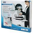 SCANPART Zwischenbaurahmen mit Arbeitsplatte für Waschmaschinen