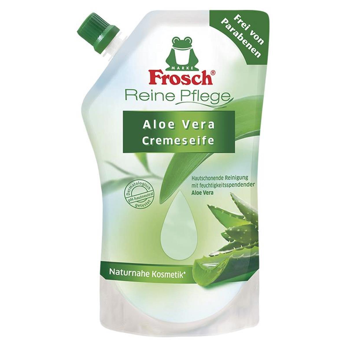frosch reine pflege aloe vera cremeseife 500 ml. Black Bedroom Furniture Sets. Home Design Ideas