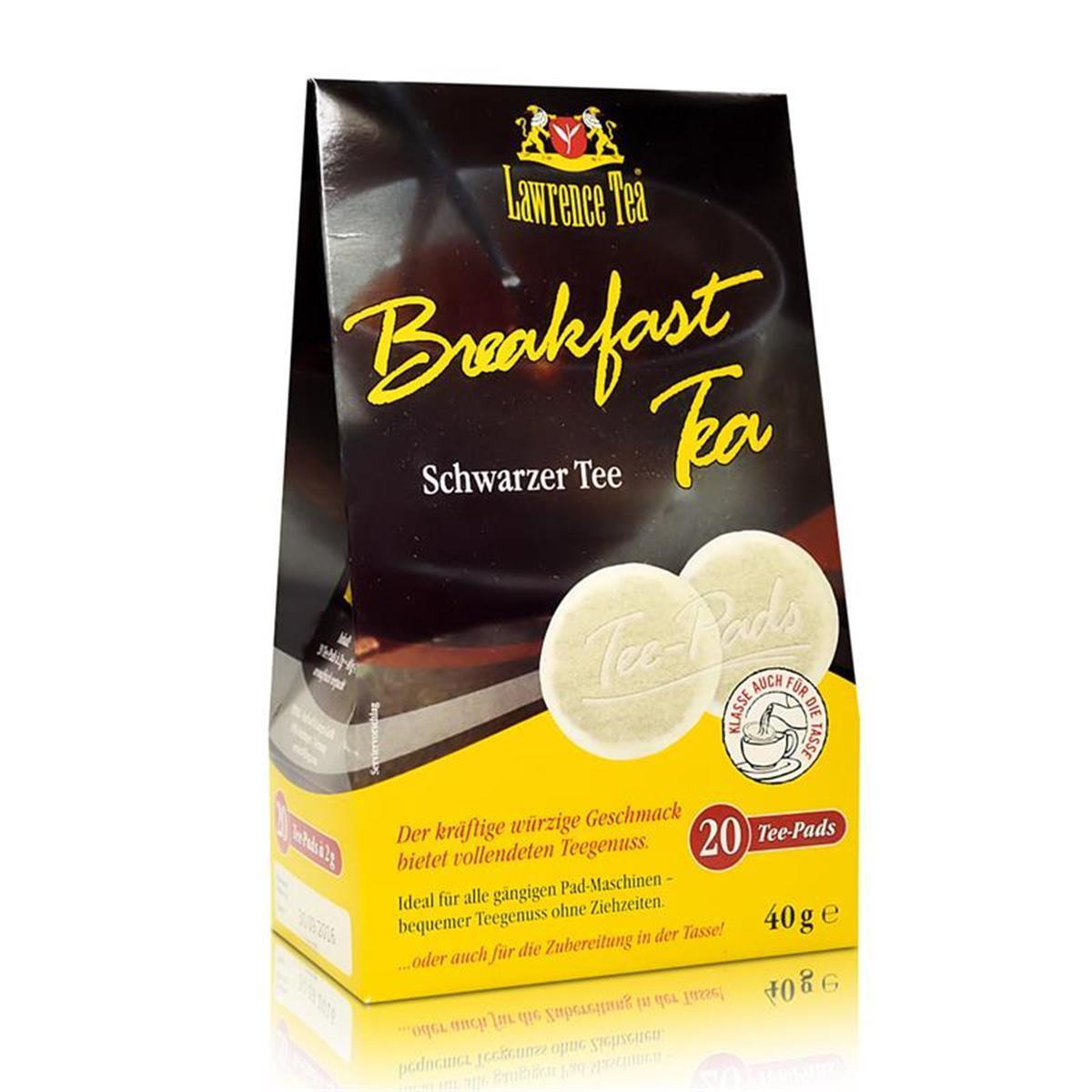 lawrence tea pads breakfast tea schwarzer teesenseo. Black Bedroom Furniture Sets. Home Design Ideas