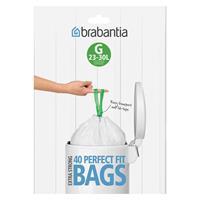 BRABANTIA Müllbeutel Spenderverpackung 30 l (G) 40 Stück