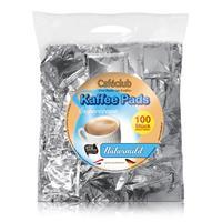 Cafeclub Kaffeepads Supercreme Naturmild 100 Stück milde Röstung einzeln verpackt