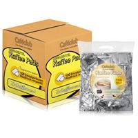 Cafeclub Supercreme Megabeutel Kaffeepads koffeinfrei 100 Stück normale Röstung einzeln verpackt