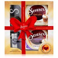 Senseo Geschenkset, 4-tlg., Café Latte & Cappuccino Choco