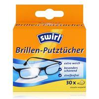 Swirl Brillen Putztücher 30 stk. Tücher - Mit Anti-Beschlag-Effekt