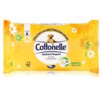 Hakle Cottonelle feuchte Toilettentücher Kamille & Aloe Vera 42 Tücher, Nachfüller