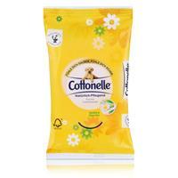 Cottonelle feuchte Toilettentücher Kamille & Aloe Vera 12 Tücher für unterwegs