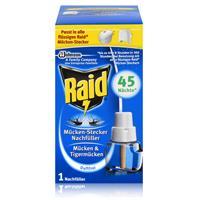 Raid Mückenstecker Nachfüller für ca. 45 Nächte