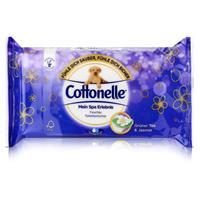 Cottonelle feuchte Toilettentücher Mein Spa Erlebnis 42 Tücher grünem Tee u. Jasmin