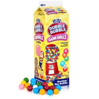 Dubble Bubble Gum-Balls Nachfüll-Packung Kaugummis für Kaugummi-Automaten (1er Pack)