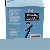 Gillette Blue II Einwegrasierer 64er Box 2-Klingen - Technologie (1er Pack)