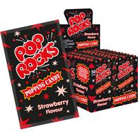 Pop Rocks Erdbeere 50 Stkück im Display