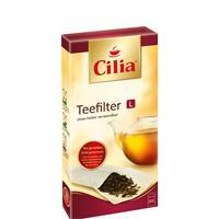 CILIA® Teefilter 80 Stk. Grösse L ohne Halter verwendbar ( 1er Pack )