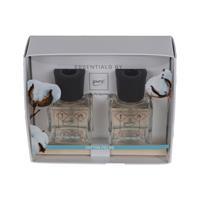 Geschenkset Essentials by ipuro Cotton Fields 2x50ml Raumduft