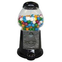 Bubble Gum Kugel-Automat ungefüllt schwarz 27cm Kaugummiautomat (1er Pack)