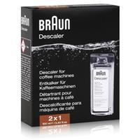 Braun BRSC 003 Kaffeemaschinen-Entkalker 2x100ml