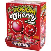 Booom Cherry Bonbon mit Bubble Gum Kern 200 Stk. im Displaykarton (1er Pack)