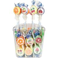 Sweet Stories Rocks Lollies bunt 100x10g in der Dose Lutscher