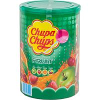 Chupa Chups Lollipops Fruit 100 stück - Apfel,Erdbeere,Orange,Kirsch