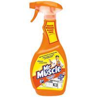 Mr Muscle Küche Total Reiniger 5in1 Lemon 500 ml - Beseitigt Bakterien (1er Pack)