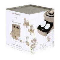 Air Pearl by ipuro elektrischer Raumbedufter Taupe - Design Cube (1er Pack)