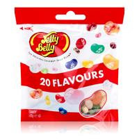 Jelly Belly Beans 20 Flavours Candy 100g Geleebohnen (1er Pack)
