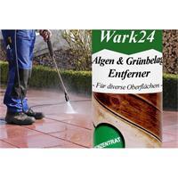 Wark24 Grünbelag-Entferner Konzentrat 250ml - gegen Algen ergibt 5 Liter