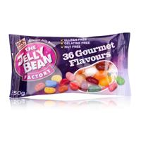 Jelly Bean Factory 36 Gourmet Flavours 50g - Jelly Beans Tütchen (1er Pack)
