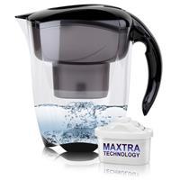 BRITA Elemaris Wasserfilter schwarz 2,4L inkl. 1x Maxtra Kartusche