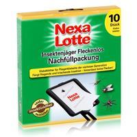 Nexa Lotte Insektenjäger Fleckenlos Nachfüllpackung - 10 Klebeblätter