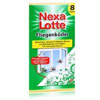 Nexa Lotte Fliegenköder 8 Stück - Dekorative, dezente Fraßköder-Motive