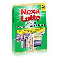 Nexa Lotte Duftende Mottenschutz-Säckchen 3 stk. - wirkt 6 Monate (1er Pack)
