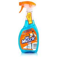 Mr Muscle Glas-Total Glasreiniger 500ml - Streifenfreier Glanz (1er Pack)