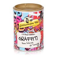 Goldmännchen-Tee Graffiti 25 Teepads 50g - Rote Früchte