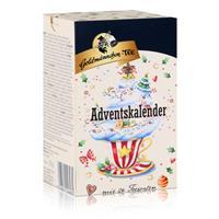 Goldmännchen-Tee Adventskalender mit 24 Teesorten 50g (1er Pack)