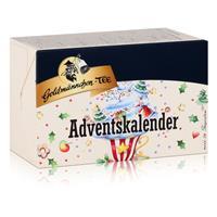 Goldmännchen-Tee Adventskalender mit 24 Teesorten 50g