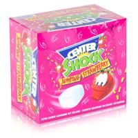 Center Shock Jumping Strawberry 100 Stück - Extra saurer Kaugummi (1er Pack)