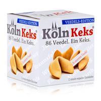 Köln Keks 86 Veedel. Glückskeks Veedels-Edition 66g (1er Pack)