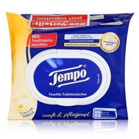 Tempo Feuchte Toilettentücher sanft & pflegend Duo Vorteilspack 2x42er
