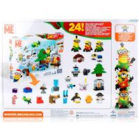 Mattel Minions Adventskalender Mega Bloks CPC57 - Bau es zusammen