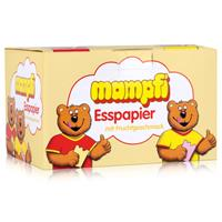 Mampfi Esspapier Oblaten 200 Stück - mit Fruchtgesmack (1er Pack)