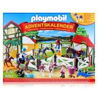 Playmobil Adventskalender 9262 - Reiterhof mit samtigem Streichelpony