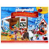 Playmobil Adventskalender 9264 - Wichtelwerkstatt mit elektrischer Laterne