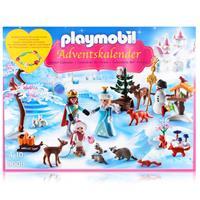 Playmobil Adventskalender 9008 - Eislaufprinzessin im Schlosspark
