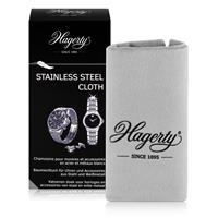 Hagerty Stainless Steel Cloth - Baumwolltuch für Uhren 36x30cm (1er Pack)