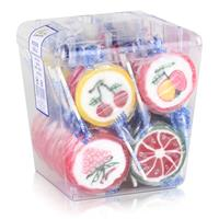 Rocks Lollies Früchte in der Dose 50 Stück á 26g - Hartkaramelle