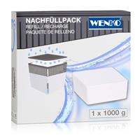 Wenko 50250100 Design Raumentfeuchter Cube Nachfüller 1000g