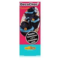 Dekoback Decocino DecoChoc Schwarz 100g - Modellier-Zuckermasse