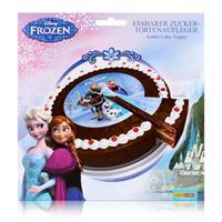 Dekoback Decocino Frozen essbarer Zucker-Tortenaufleger 13g